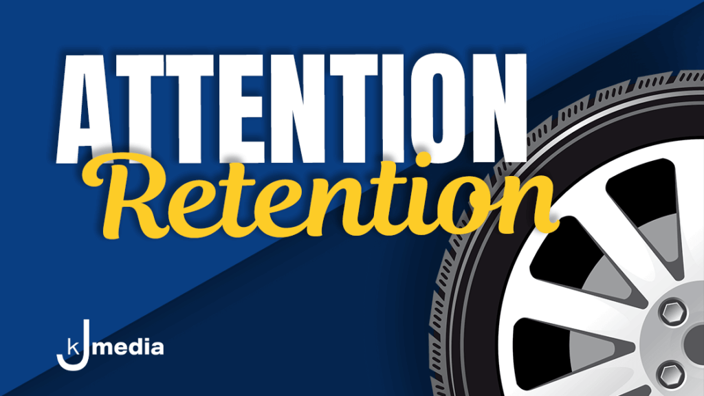 """""""Attention Retention"""" Radio Show Header"""